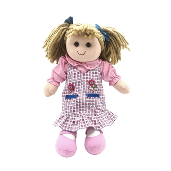 China manufacturer handmade baby rag doll toys for girls