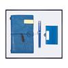Blue-Notebook+pen+name card holder