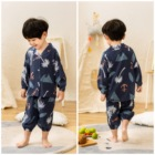 Boys Boy Kids Susuray Toddler Boys Pajama Clothes Set Animal Summer Long Sleeve Baby Boy Clotes Cotton Little Kids Pjs Sleepwear 1-5T