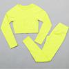 Yellow-crop top