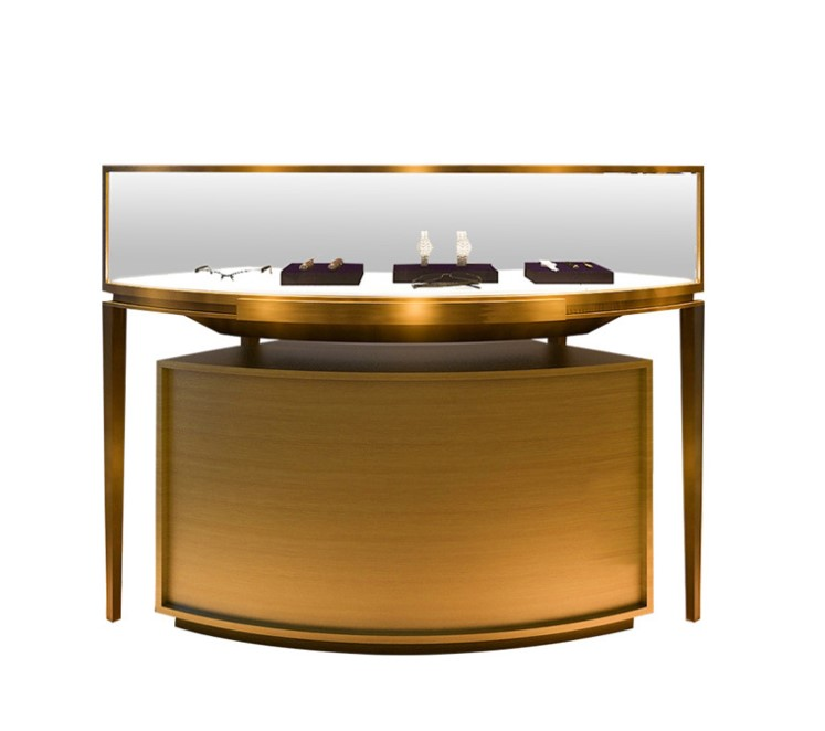 Modern Style Jewelry Display Furniture Mall Jewelry Display Case Showcase Jewellery Display Cabinet