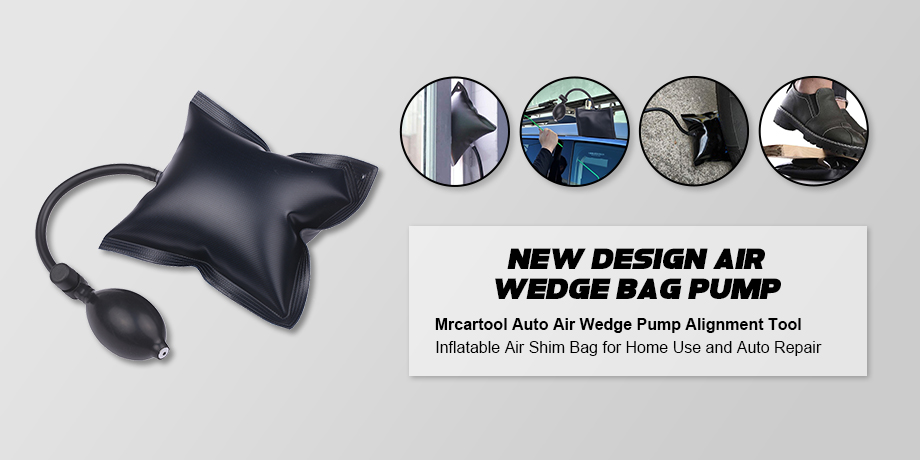 Amazon hot selling Durable Air Wedge Bag Pump wedges Professional Leveling Kit & Alignment Tool Inflatable Shim Bag