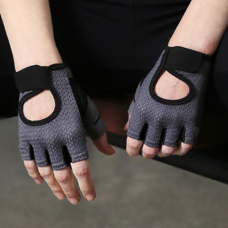 Оптовая продажа, тренировочные Перчатки для фитнеса, бодибилдинга, тренажерного зала, тяжелой атлетики для женщин