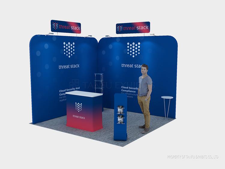 3x3 3x6 Modular Trade Show Booth Modular