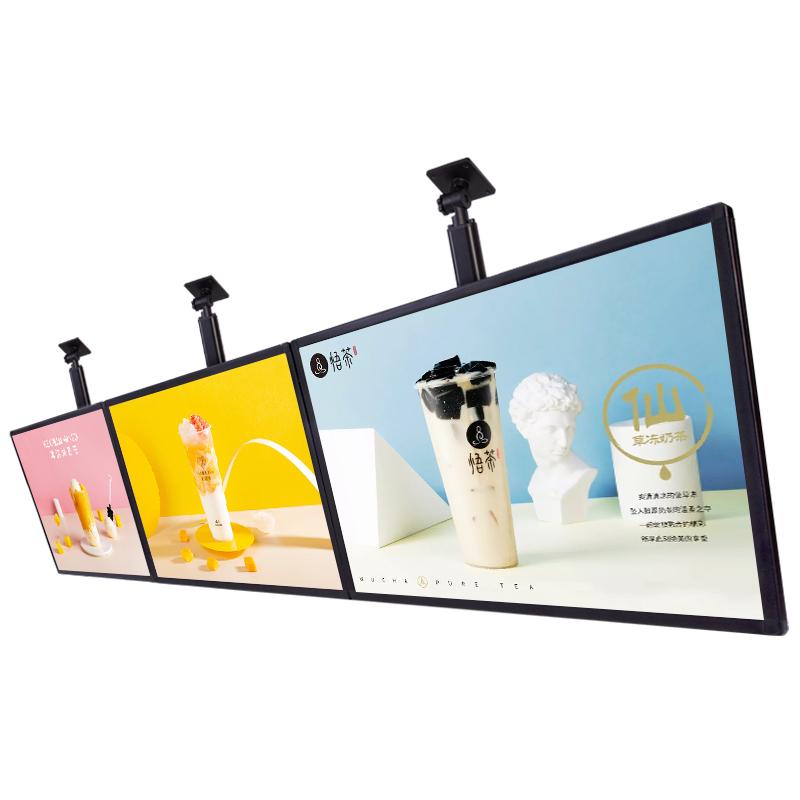 Рекламный постер меню заказ дисплей светодиодный лайтбокс подходит для ресторана