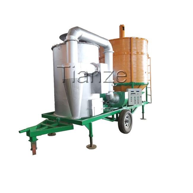 Сушильная машина для риса вместимостью 15 т/сушилка для зерна кукурузы