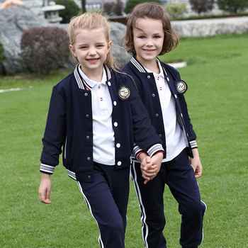 Wholesale boys and girls boutique tukey kindergarten school unforms outfits primary custom shop oregon uniform school kids