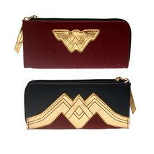 Wonder Woman бумажник большой емкости, кошельки, Женский кошелек, женские кошельки, Женский держатель для карт DFT5515(Китай)