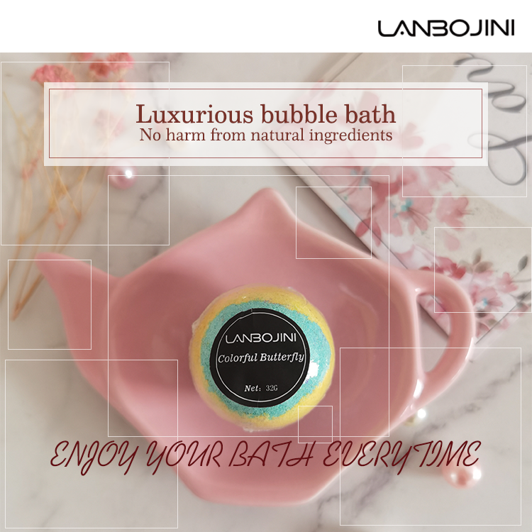 Handmade Luxury Bath Bomb Organic Oil Trendy Shower Bath Bombs Oil