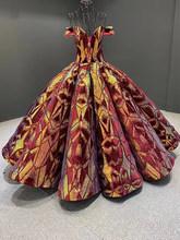 J66661 janceber Выпускные платья в платья для выпускного бала с v-образным вырезом и открытыми плечами Бальные платья vestidos de 15 avienos(Китай)
