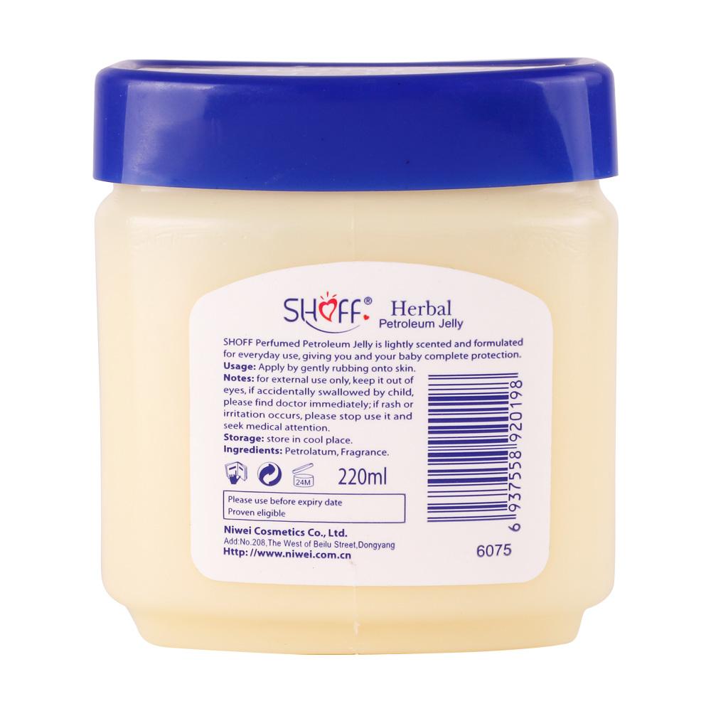 220ml shoff skin whitening herbal Petroleum Jelly