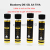 Glass tube+VSS label A