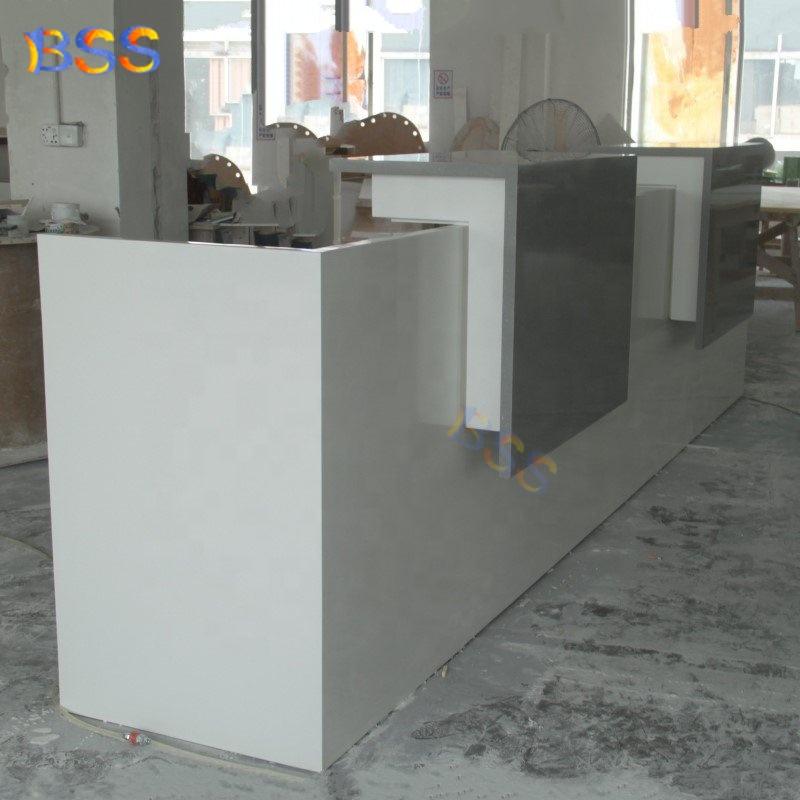 Современная офисная мебель для отеля, L-образный администратор, стойка регистрации