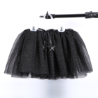 Modern Design birthday party tutu skirt kids Costumes dance tutu dress black tulle skirt tutu skirt for girls