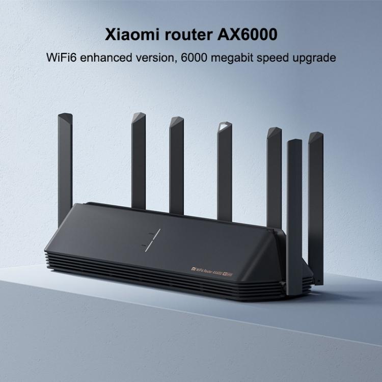 Оригинальный Xiaomi AX6000 Wi-Fi 5G маршрутизатор 6000Mbs 7 антенны 6-канальный независимых беспроводной маршрутизатор повторитель ускоритель