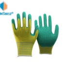 Industrial Hand Made Hand Gloves Manufacturers In China NMSHIELD Industrial Handjob Latex Gloves Hand Industry Knitted Gloves Latex Coated Gloves Made In China