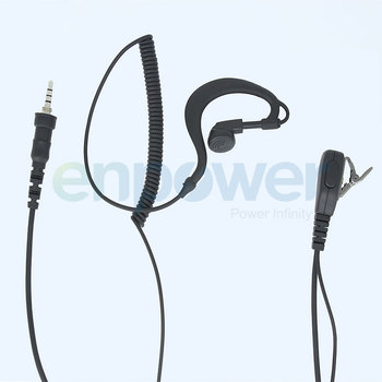 Cheap price two way radio earpiece for Hytera TC-610 TC-700