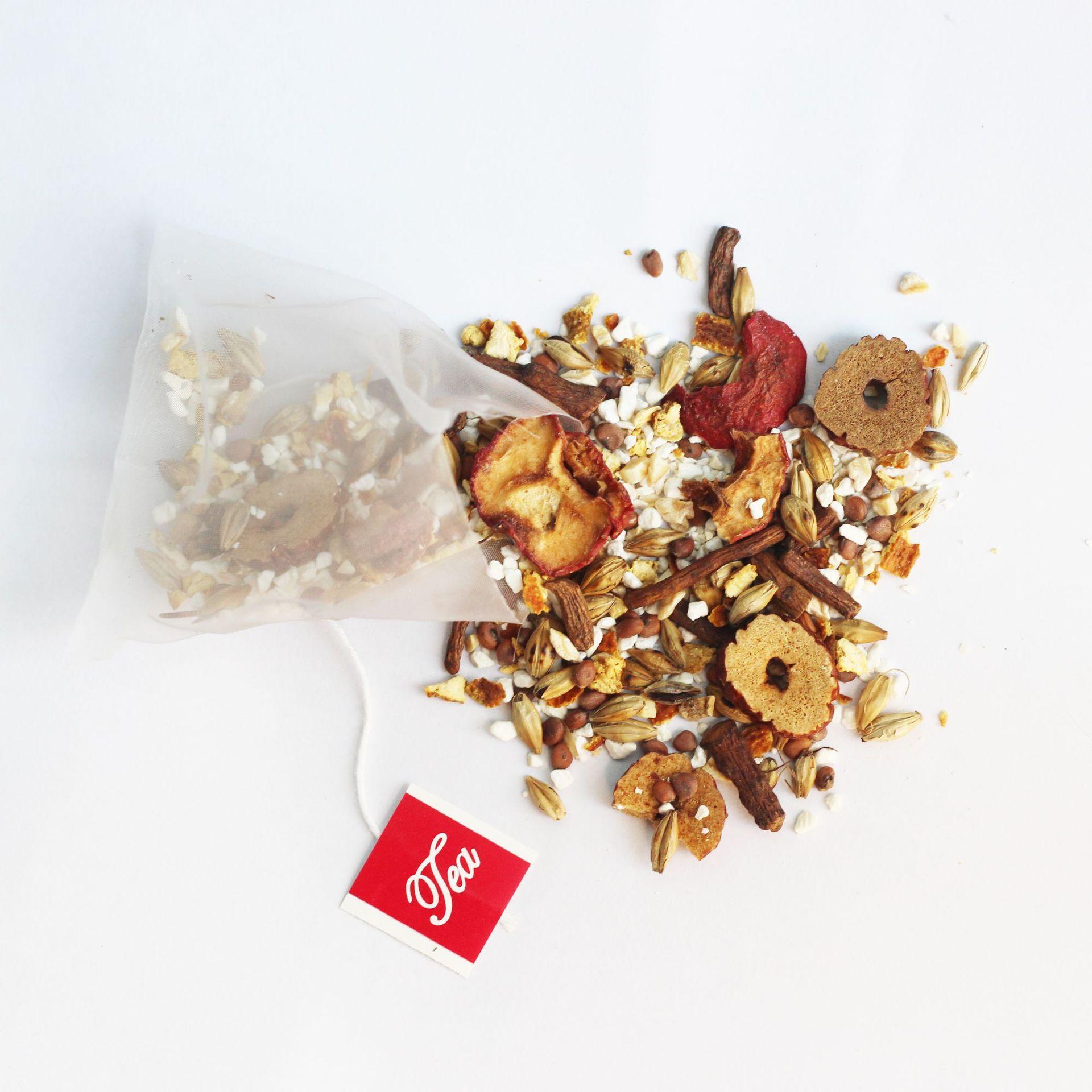 Private Label Slimming Belly Slimming Tea Hawthorn Malt Herbal Tea Bag For Detoxification - 4uTea | 4uTea.com