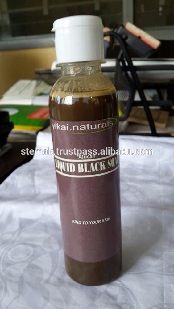 Liquid African Bath Black Soap