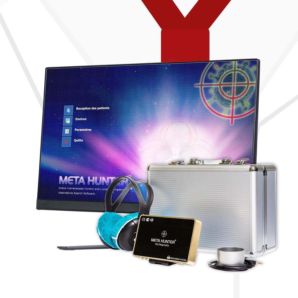 Профессиональный Metatron Hunter 4025, сканер тела, анализатор здоровья и терапевтическая машина