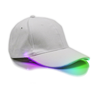 White Cap with RGB Color Changing Lights