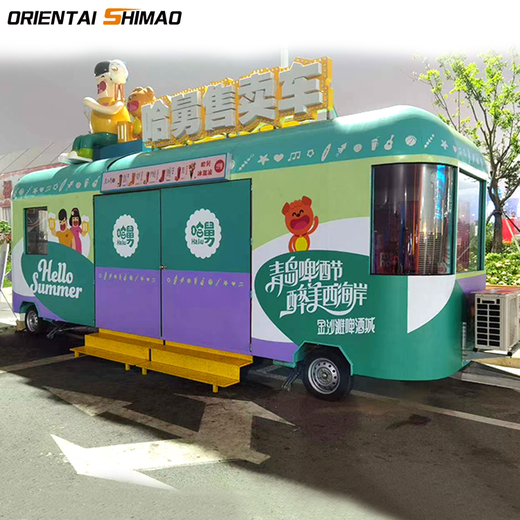 New Design Electric Mobile Kitchen Food Truck Buy Mobile Kitchen Truck Mobile Food Trucks Truck Food Product On Alibaba Com