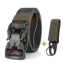 Камуфляжный мужской тактический ремень Cobra, военный Вентилятор с магнитной пряжкой, быстросохнущие джинсовые штаны, ремни для улицы, мужско...(Китай)