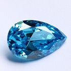 Tanzanite normal pear cut 14*18mm cubic zirconia cz gemstone diamond beads