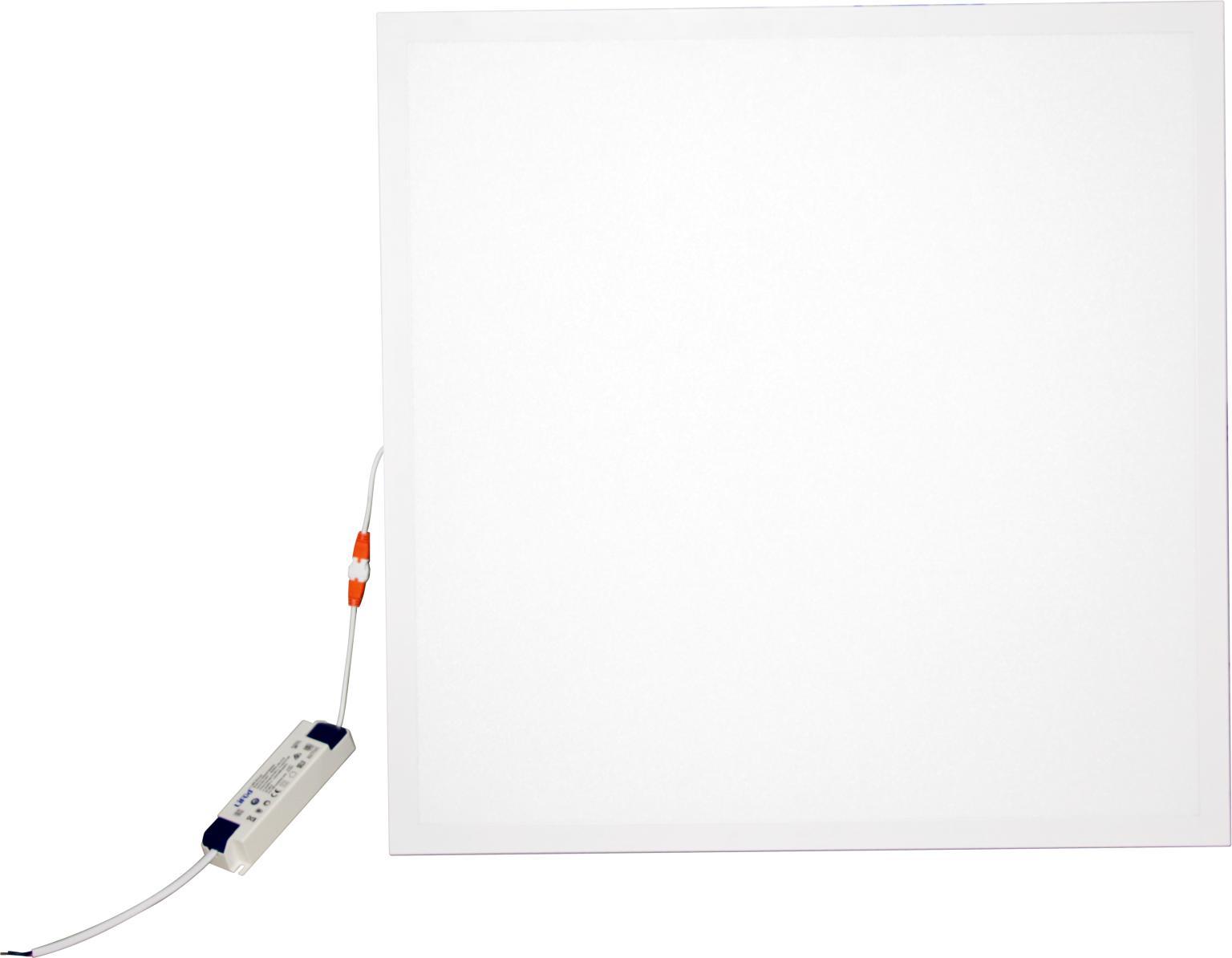 Backlit panel light 150lm/w 595x595mm 25W economy version for retail market