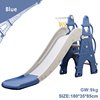 Blue baby plastic slide