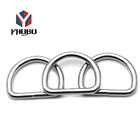 Nickel D Ring Fashion High Quality Metal Nickel Steel 35mm D Ring