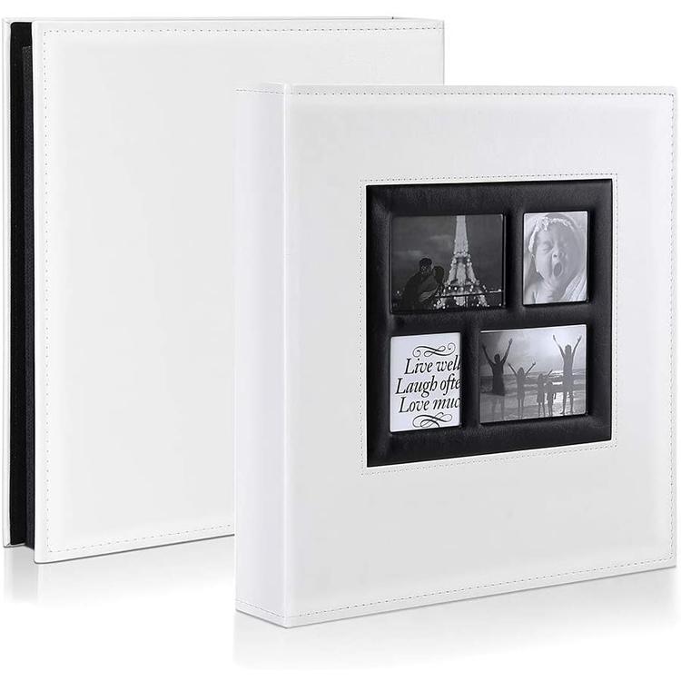 Álbum de fotos 4x6 500 Bolsos Fotos Álbuns de fotos de Casamento Extra Grande Capacidade Da Família Detém 500 Horizontal e Vertical fotos