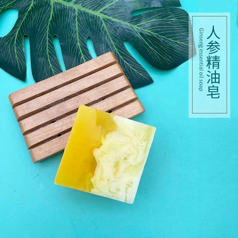 Мыло ручной работы с натуральным эфирным маслом для мытья лица и тела