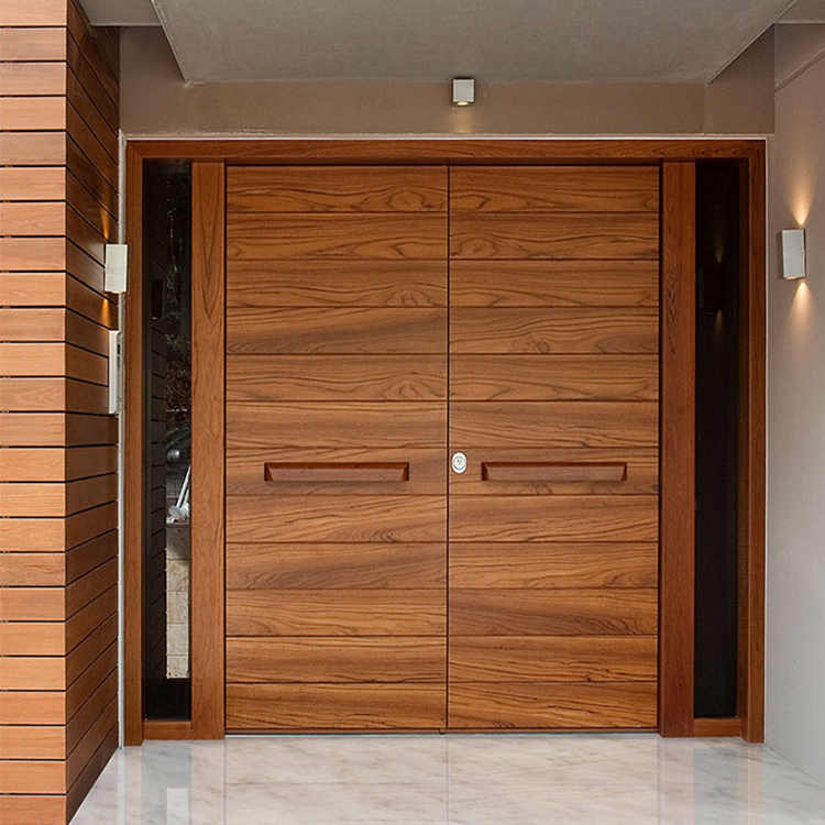 Hs Bs0045 House Outside Main Double Solid Wooden Door Gate Designs For Houses Buy Wooden Gate Double Wood Door Main Double Door Wooden Design For House Product On Alibaba Com