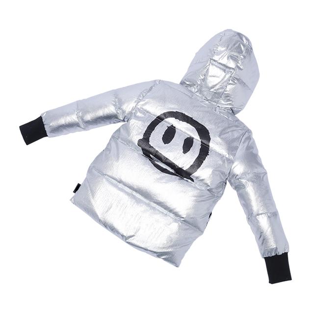 Huiquan ODM зимнее пальто для девочек, теплое пальто с капюшоном для мальчиков, модный стиль