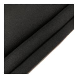 Отличное качество ткани черный реверсивный 80% шерсть Мериносовая ткань для мужчин и женщин куртка