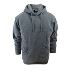 Hoody Fleece Men Hoodie Plain Color Long Sleeves High Quality Ready Made Fleece Hoody