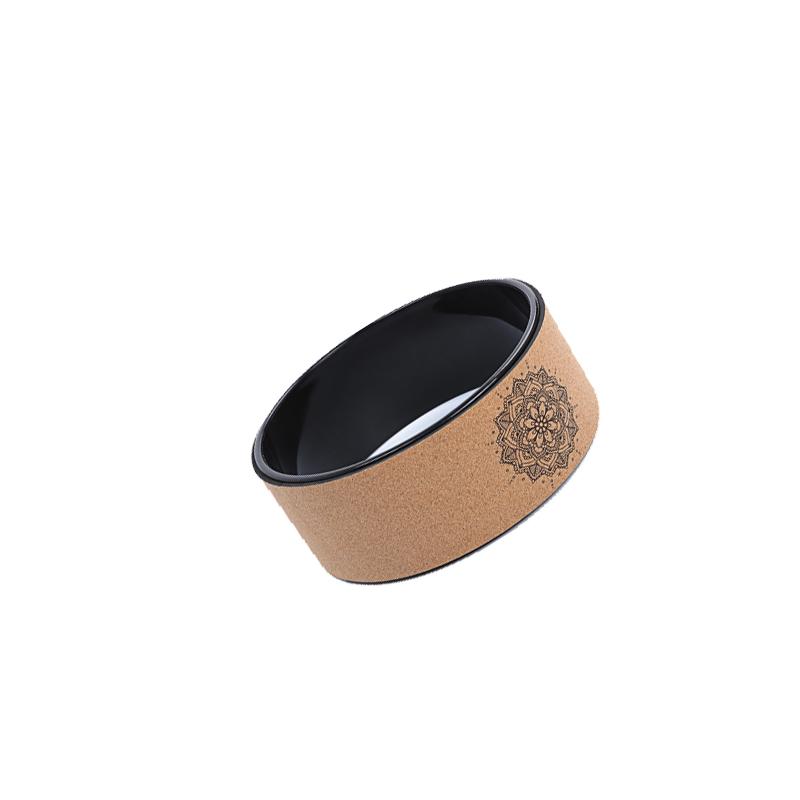 AWK популярное оборудование для балансировки пробковое колесо для йоги amazon горячая Распродажа дерево бамбуковое колесо для йоги