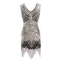 Африканские платья для женщин 1920s Гэтсби, расшитые блестками, украшенные кристаллами, Африканское платье для выпускного вечера, африкански...(Китай)