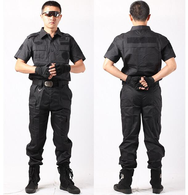 2020 Cotton Protective Police Security Guard Uniforms