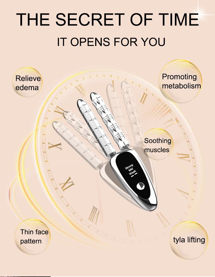 Новые продукты, V-образный ролик для красоты, ролик для тела с вращением на 360 градусов, лифтинг лица, массажер для тела и лица