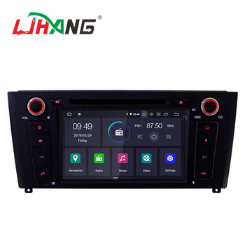 Car auto stereo for BMW E81 android car navigation with 2+16G android system 9.0 quad core 7 inch touch screen