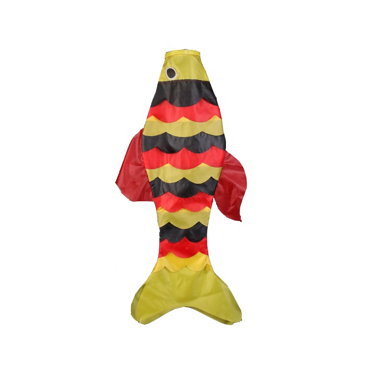 Factory direct Fish Flag large halloween windsocks kite