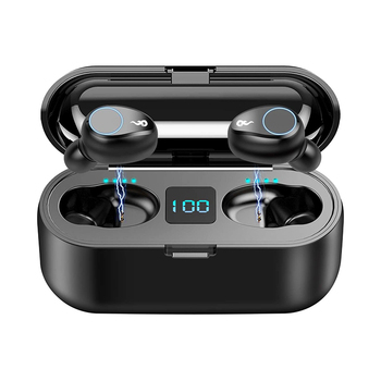 2020 New Arrival Bluetooth 5.0 F9 Earphone Headphone For All Type Phones Auto Connect Bluetooth Earphone Wireless