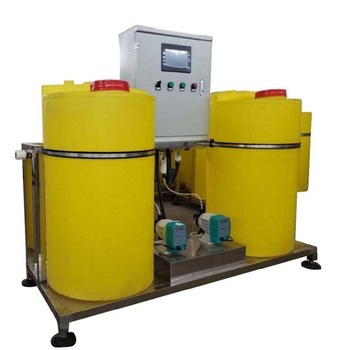 dosing system for chemicals dosing system design and components