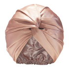 Silk Wrap Custom Logo 16mm Silk Hair Lined Wrap Towel Turban Women Sleep 100% Mulberry Silk Bonnet