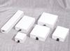 matte white ring box 5*5*3.5cm