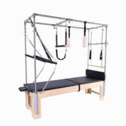 2021 Premium Quality Classic Yoga Wood Pilates Reformer Gym Equipment Pilates Cadillac Elevated Beds