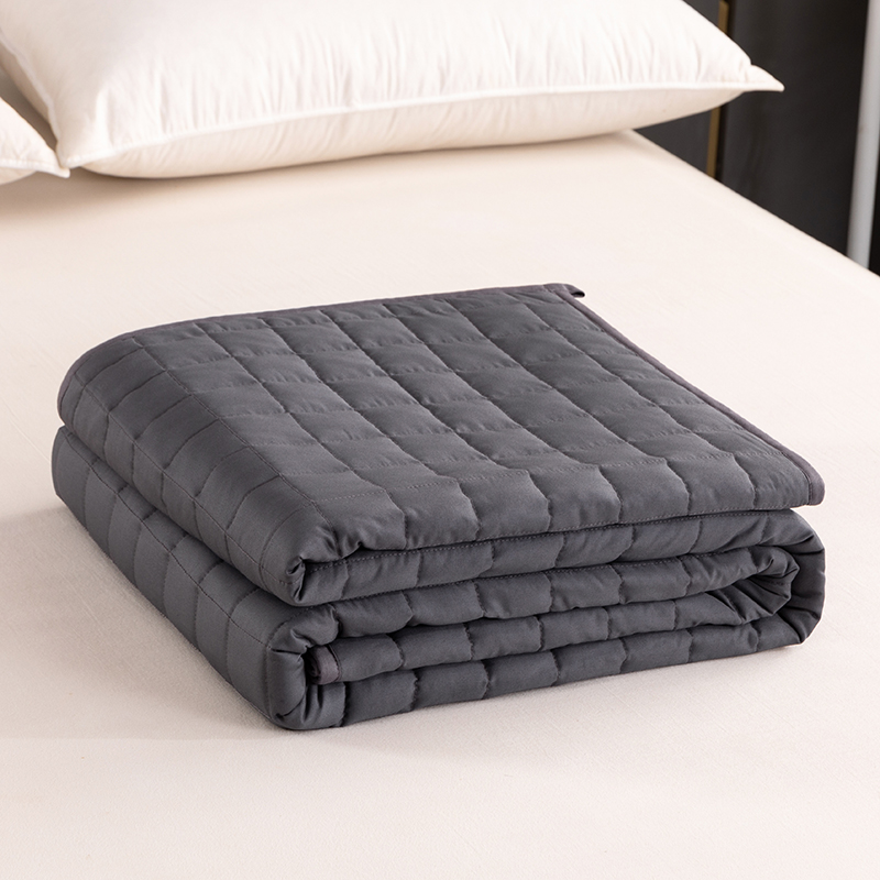 Best Supplier Patent Technology Premium Glass Beads Cotton Fabric Weighted Blanket