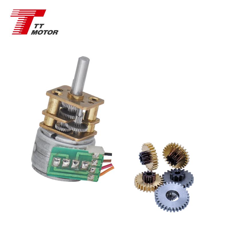 GM12-15BY 5v маленький Электрический шаговый электродвигатель постоянного тока